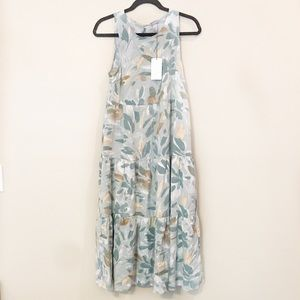 NWT A New Day Pastel Tiered Maxi Dress